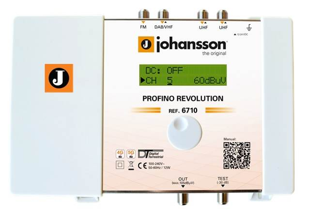 Amplifier Johansson Profino 6710 Revolution