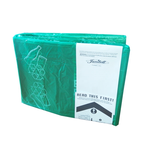 JAN Refill 450 zielony-bottles/szkło 1-p