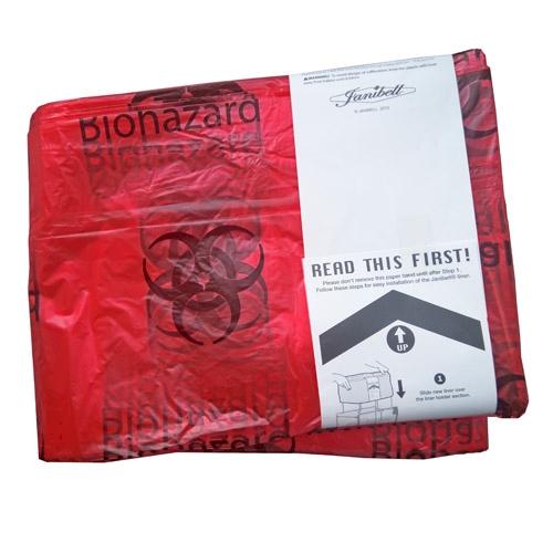 JAN Refill 450 czerwony-biohazard/odpady med. 1-p