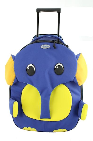 SAMSONITE WALIZKA SAMMIES DREAMS  U2201033 ELEPHANT BLUE WYPRZEDAŻ