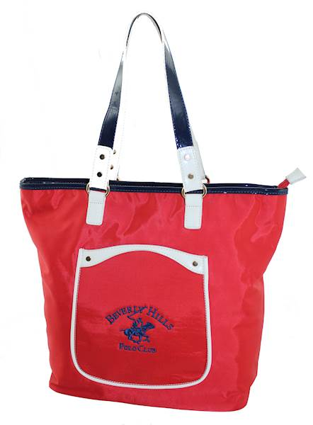 BEVERLY HILLS POLO CLUB TOREBKA KANSAS ROSSO BH-161 RO