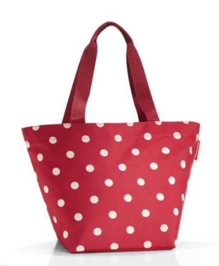 REISENTHEL RZS3014 TORBA SHOPPER M RUBY DOTS