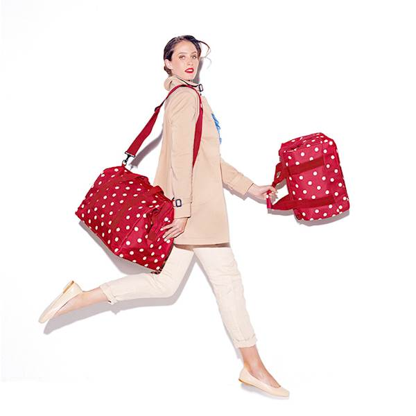 REISENTHEL RMS3014 TORBA ALLROUNDER M RUBY DOTS