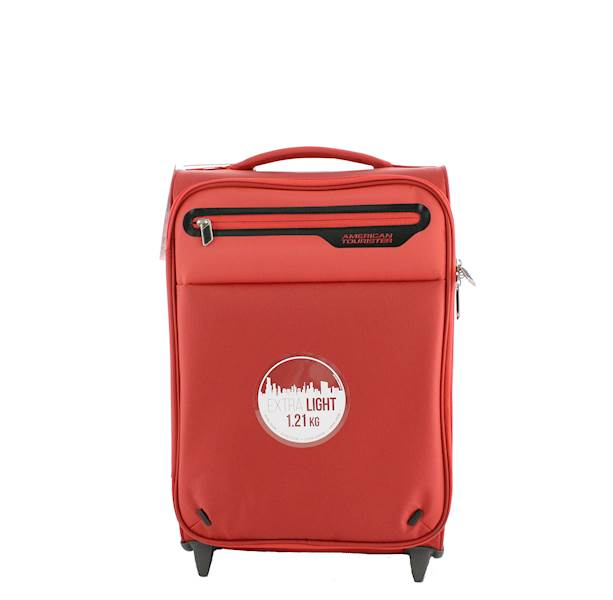 AMERICAN TOURISTER WALIZKA 00G00001 LIGHTWAY SUPER LIGHT 48/17 LAVA RED