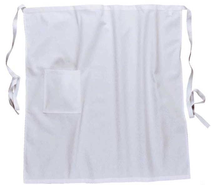 S794 - FARTUSZEK BAROWY PORTWEST 71X76 - biały