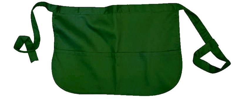 A550 - Fartuszek zapaska barowa zielona