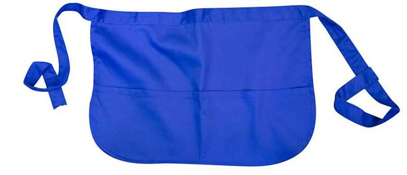 A553 - Fartuszek zapaska barowa niebieska