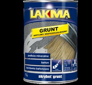 AKRYBET GRUNT (GRUNT AKRYLOWY LUXMAL)  4 LIT