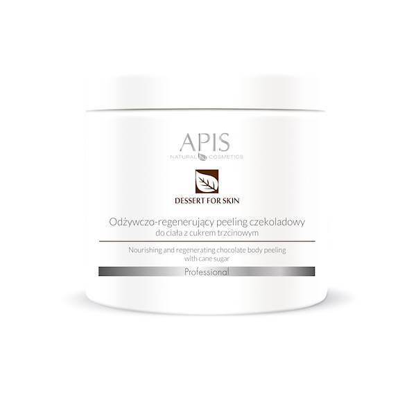 APIS odżywczo-regenerujący peeling czekoladowy do