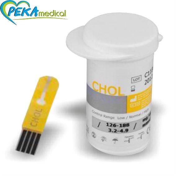 Benecheck - paski testowe do pomiaru stężenia cholesterolu (10 szt )