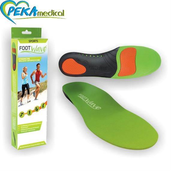Dynamiczne Wkładki Ortopedyczne Foot Wave Sports Foot Active