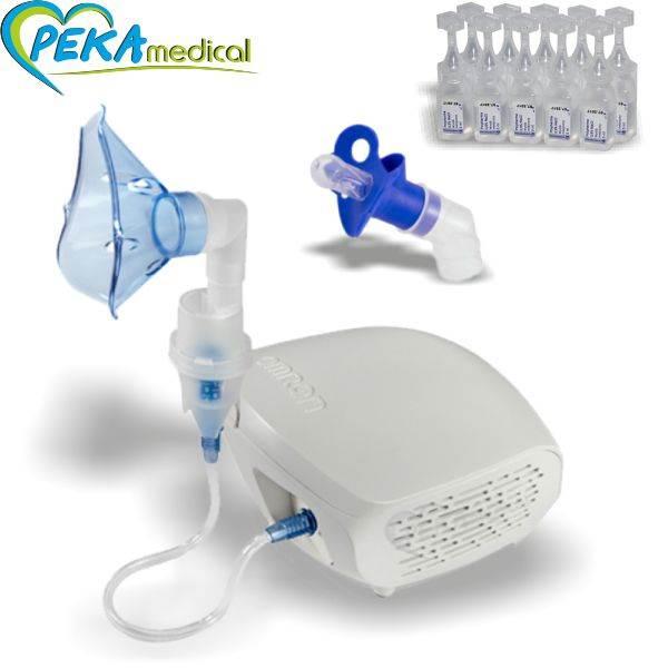 OMRON Inhalator CompAir ECO (NE-C302-E) nebulizator + smoczek