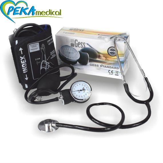 GESS Ciśnieniomierz zegarowy + stetoskop BK2001-3001