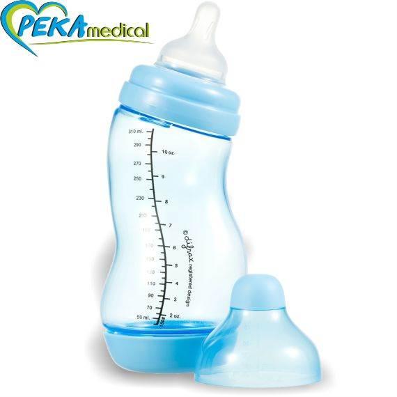 DIFRAX Butelka S antykolkowa szeroka 310 ml (niebiska)