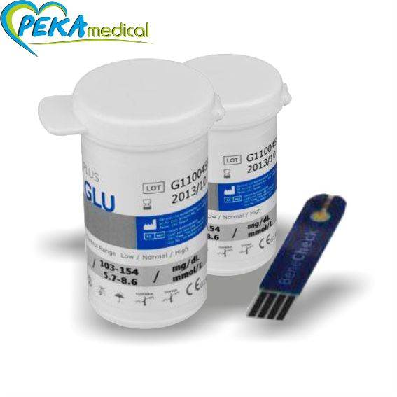 Benecheck - paski testowe do pomiaru stężenia glukozy we krwi. ( 50 szt )
