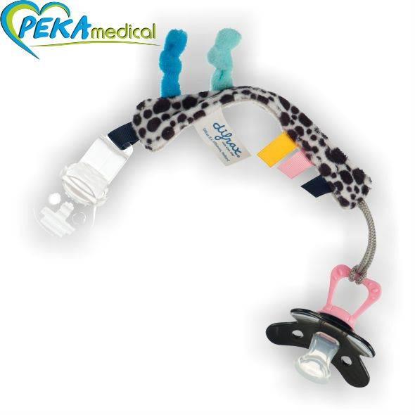 DIFRAX Pluszowy łańcuszek do smoczka