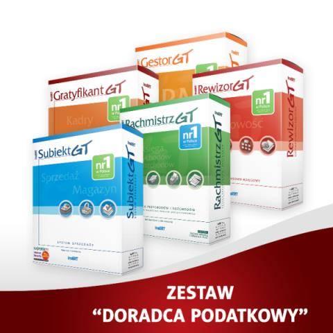 Zestaw Doradca podatkowy GT(SGT,GES,RACH,REW,GRAT)