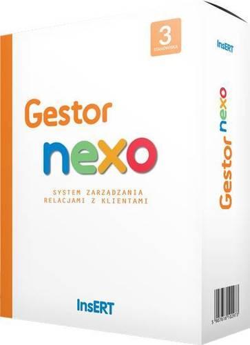 Program Gestor NEXO PRO 3 stanowiska