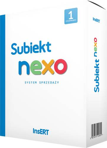 Program Subiekt NEXO PRO 1 stanowisko