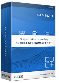 Program Eksport Faktur FS do formatu Kamsoft-TXT