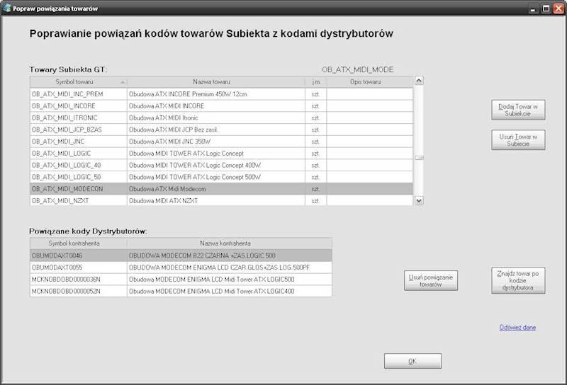Program Dystrybutor GT