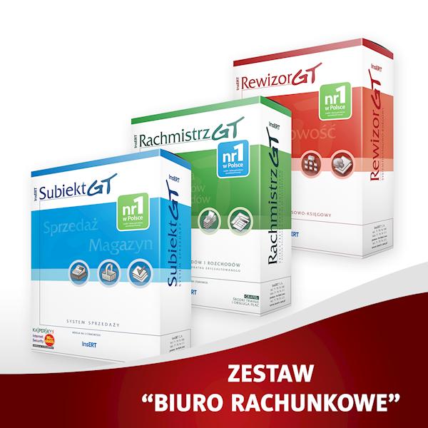 Insert Biuro Rachunkowe (Rew.GT,Rach.GT,Sub.GT)