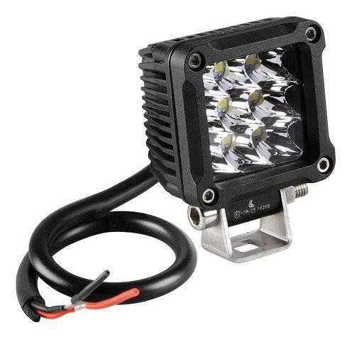 Halogen do motocykla 9 LED 9/32V białe 1szt