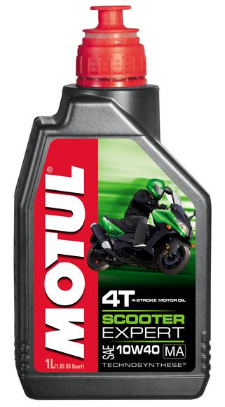 Olej silnikowy Motul Scooter Expert 4T 10W40 1L Pó