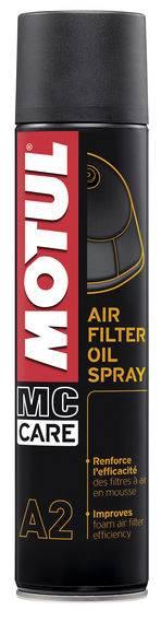 Płyn do filtrów powietrza Motul A2 spray 0,4L
