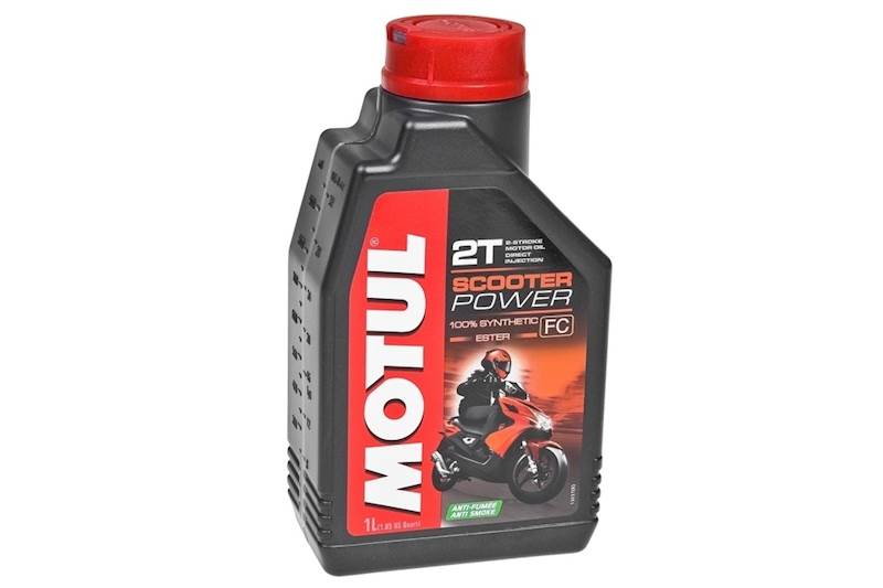 Olej silnikowy Motul Scooter Power 2T 1L Syntetycz