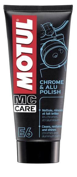 Środek do czyszczenia Motul E6 Chrom & Alu polish