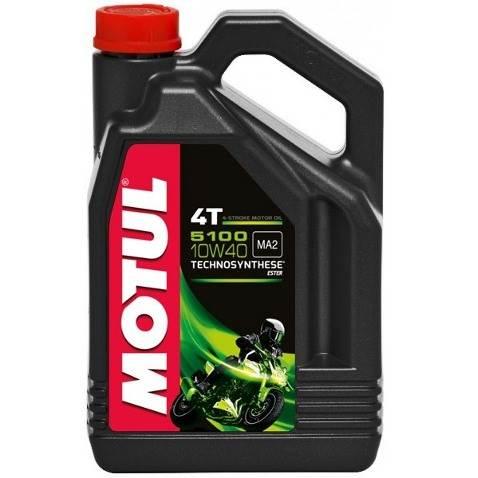 Olej silnikowy Motul 5100 10W40 4L Półsyntetyczny