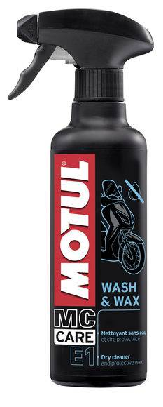 Środek czyszcząco-ochronny Motul E1 Wash & Wax 0,4