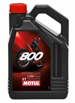 Olej silnikowy Motul 800 2T Off-road 4L Syntetyczn