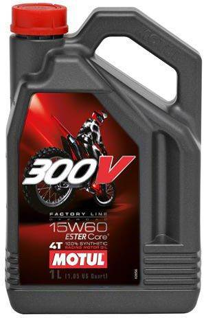 Olej silnikowy Motul 300V 15W60 Off-road 4L Syntet