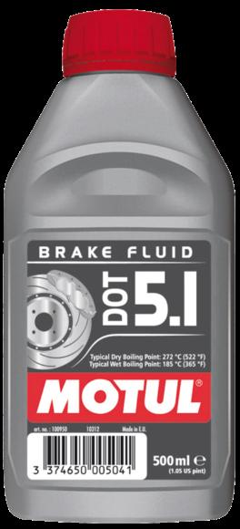 Płyn hamulcowy Motul DOT 5.1 0,5L Syntetyczny