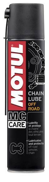 Spray do łańcucha Motul C3 OFF ROAD 0,4L