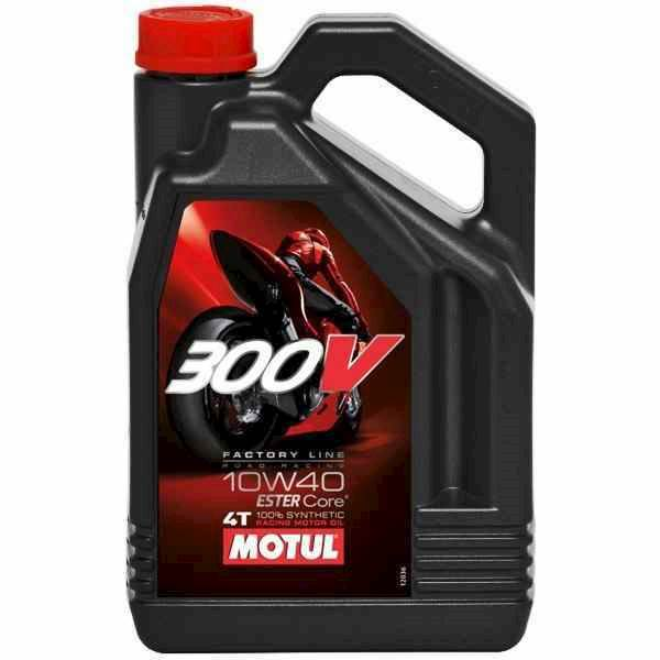 Olej silnikowy Motul 300V 10W40 Factory Line 4L Sy