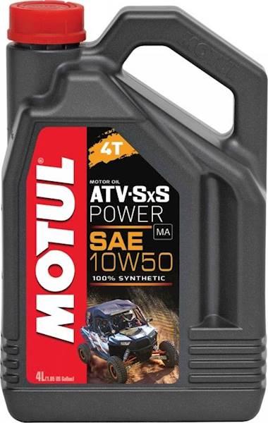 Olej silnikowy Motul ATV-SXS Power 4T 10W50 4 L. s