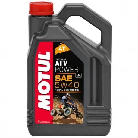 Olej silnikowy Motul ATV Power 4T 5W40 4 L. syntet
