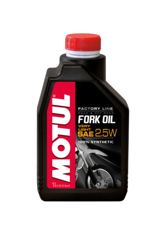 Olej do teleskopów Motul Fork Oil 2,5W Factory Lin