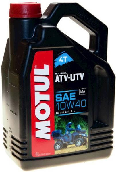 Olej silnikowy Motul ATV-UTV 4T 10W40 4 L. mineral