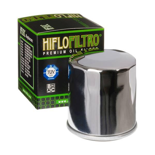 Filtr oleju HifloFiltro HF303C chromowany