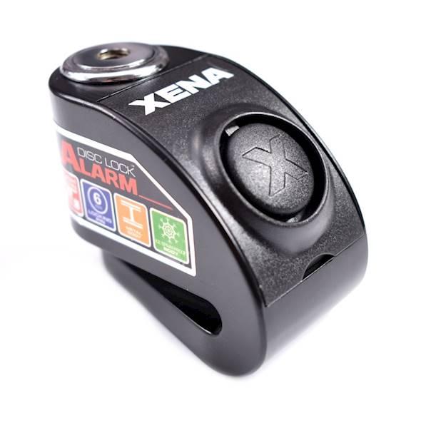 XENA XZZ6 Blokada na tarczę z alarmem czarna