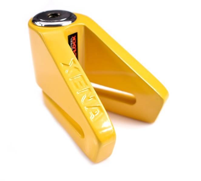 XENA X1 Blokada na tarczę bez alarmu żółta