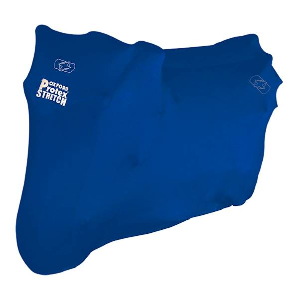 OXFORD POKROWIEC NA MOTOCYKL PROTEX STRETCH BLUE