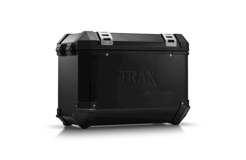 Kufer boczny TRAX ION ALU 45L czarny lewy