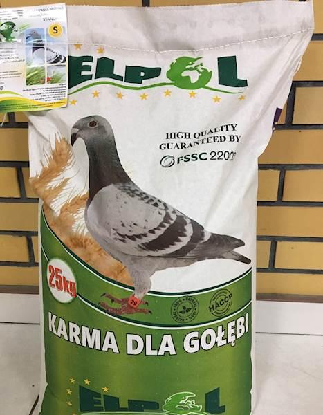 Mieszanka S dla gołębi a 25 kg