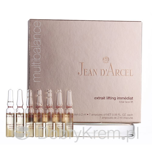 Jean D'Arcel Multibalance Extrait Lifting Immediat 7x2ml
