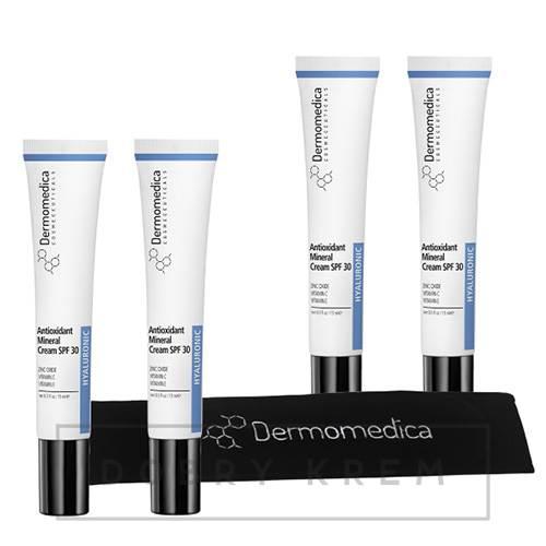 DERMOMEDICA Antioxidant Mineral Cream SET 4x15 ml